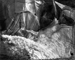 Ester Vonplon Sans titre, de la série Gletschermilch, 2013-2014 Court. Galerie VU' pour les oeuvres d'Ester Vonplon