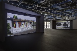 Anri Sala, Centre Pompidou, 2012 — Crédit photo Florian Kleinefenn