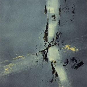Clairs-allants, coalescents tempera sur toile, 50x50cm, 2009
