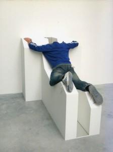 Opus incertum, 2008, détail, courtesy galerie  Gabrielle Maubrie, photo Bureau des Mésarchitectures