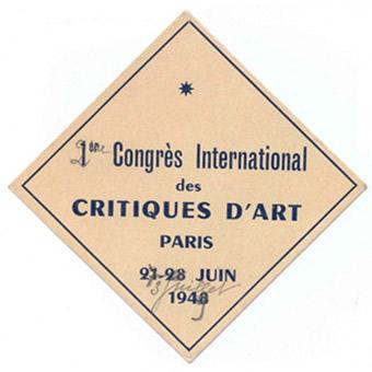 Historique de l'AICA (1949-1990) de Hélène Lassalle