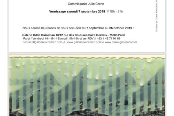 Coraline de Chiara – Echoes 2 – Galerie Odile Ouizeman