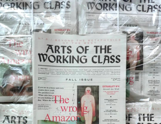 Contribution dans « Arts of the Working Class »