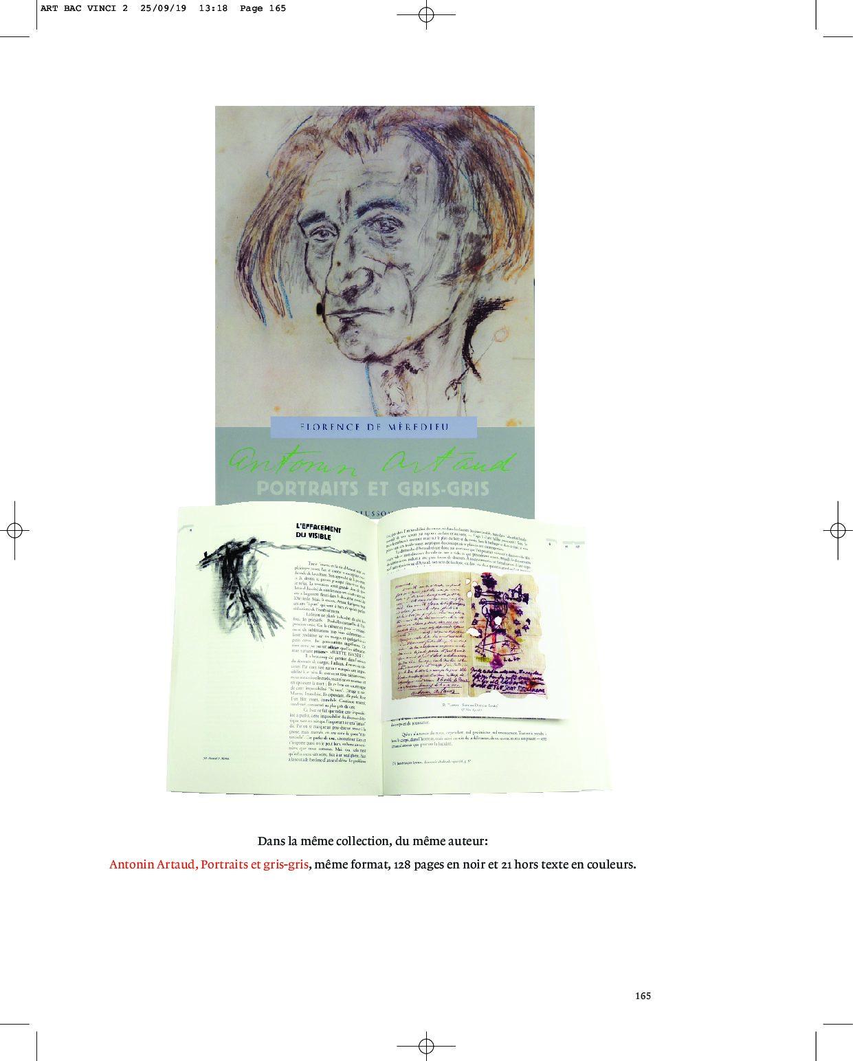 Antonin Artaud, Portraits et gris-gris, Paris, Blusson, édition enrichie de 22 hors textes couleurs (2019)