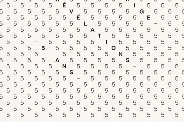 Catalogue 5 ans du Prix Révélations Emerige