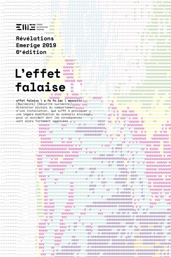 Catalogue L'effet Falaise, Prix Révélations Émerige, 2019
