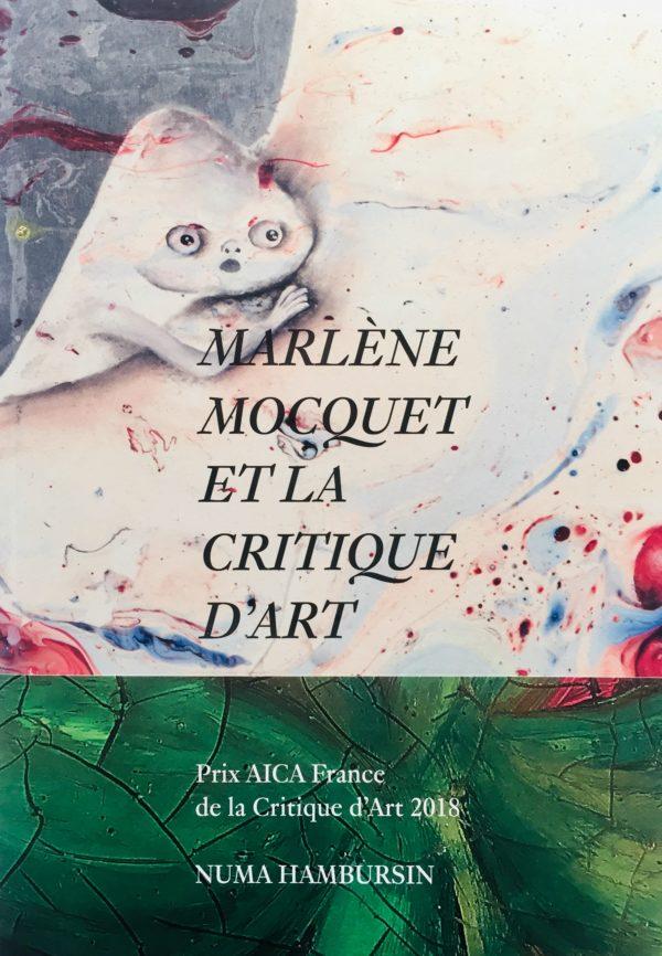 Marlène Mocquet et la critique d'Art — Numa Hambursin