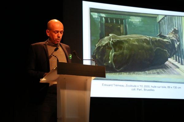 Prix AICA France 2020 : Tristan Trémeau présente Édouard Trémeau