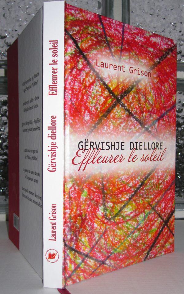 «Effleurer le silence», anthologie de textes récents de Laurent Grison en version bilingue français/albanais