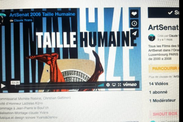 TAILLE HUMAINE ART SENAT 2006 sur VIMEO