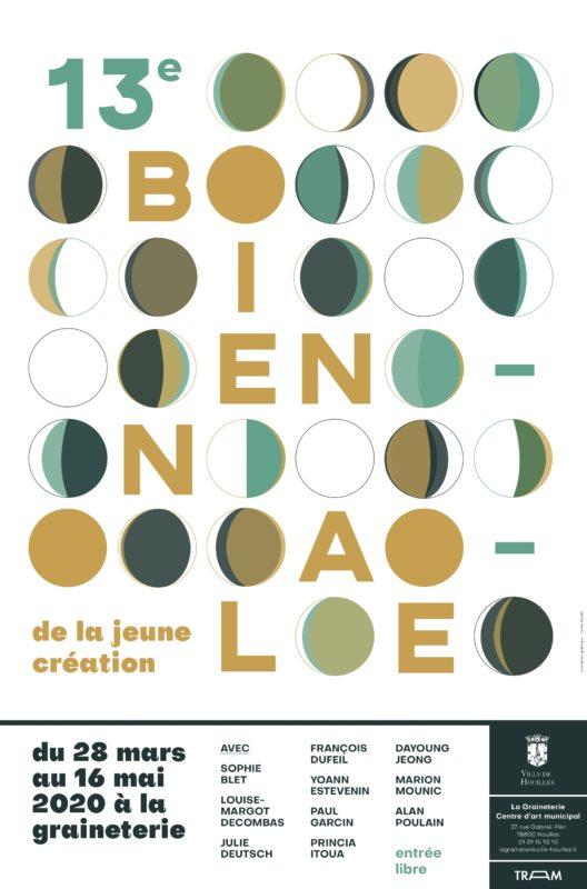 [CATALOGUE] BIENNALE DE LA JEUNE CREATION /// La Graineterie – Houilles