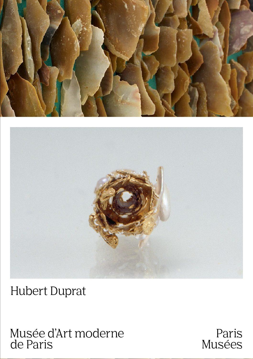 Rétrospective Hubert Duprat au Musée d'Art moderne de Paris. Catalogue édité par Paris Musées.