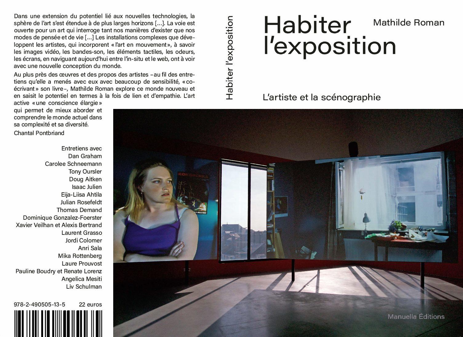 Parution de «Habiter l'exposition. L'artiste et la scénographie», éditions Manuella