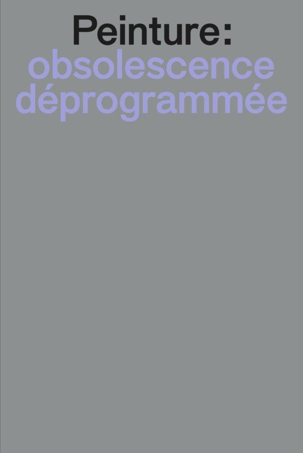 Peinture : obsolescence déprogrammée