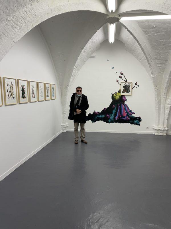 Mécènes du sud et Vasistas + Boîte noire et Alma (galeries Montpellier)
