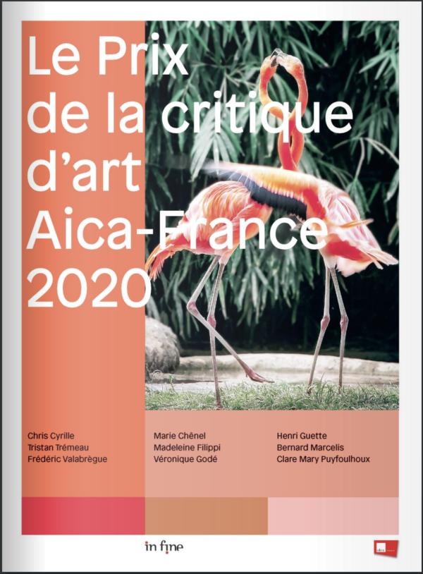 Publication du catalogue «Le Prix de la critique d'art Aica-France 2020» aux éditions In Fine