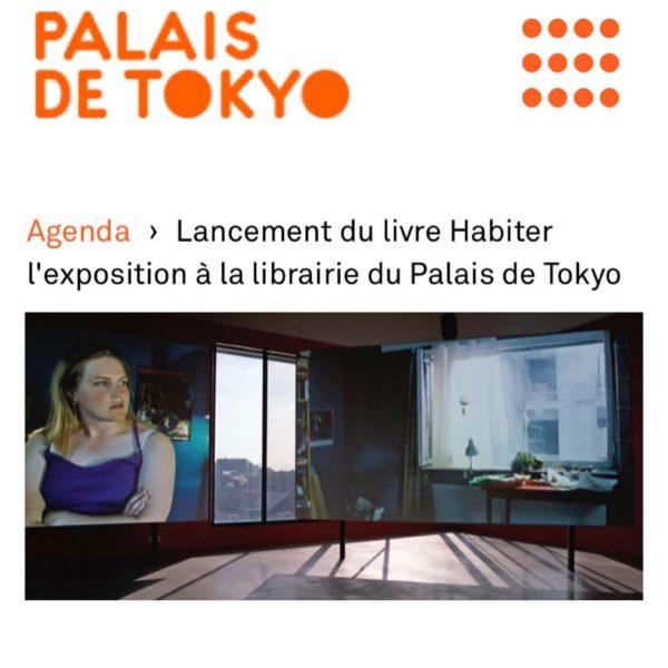 Habiter l'exposition Lancement au Palais de Tokyo le 10 juin à 18h30