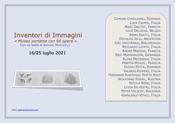 Inventori di immagini, inventeurs d'images