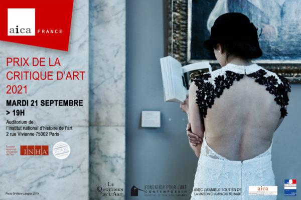 PRIX AICA France de la Critique d'Art 2021