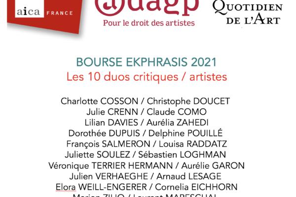 BOURSE EKPHRASIS 2021