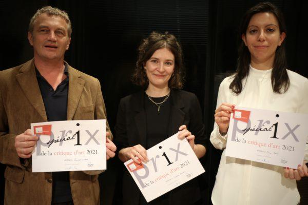Les lauréat·e·s du Prix AICA France de la Critique d'Art 2021