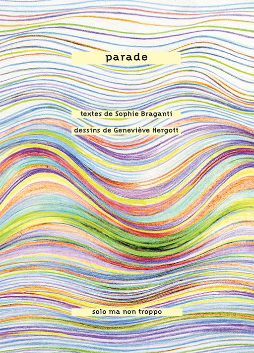 PARADE avis de parution Sophie Braganti et Geneviève Hergott