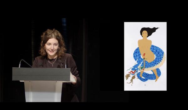 PRIX AICA 2021 : Camille Bardin, lauréate, présente Kubra Khademi
