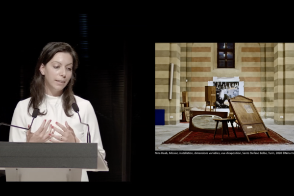 PRIX AICA 2021 : Élisa Rusca, prix spécial du jury, présente Nina Haab