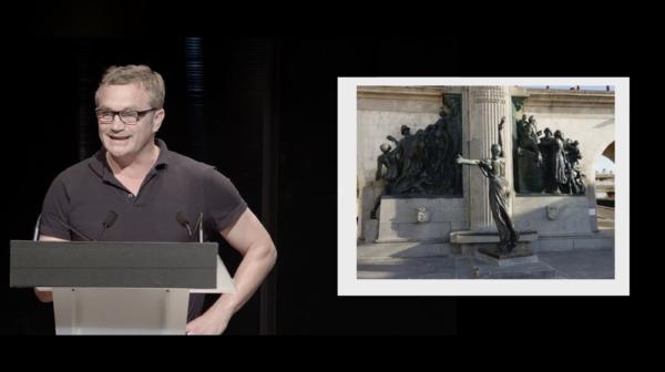 PRIX AICA 2021 : Laurent Courtens, prix spécial du jury, présente  l'oeuvre «Sikitiko» de l'artiste Eric Van Hove.
