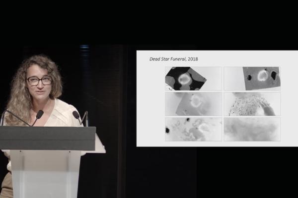 PRIX AICA 2021 : Aurélie Barnier présente  l'artiste Stéphanie Roland