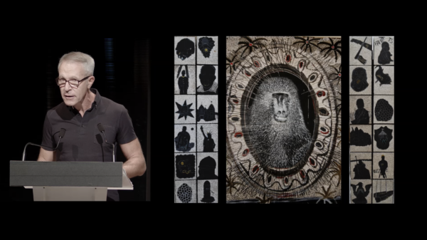 PRIX AICA 2021 : Alain Quemin présente  l'artiste Omar Ba